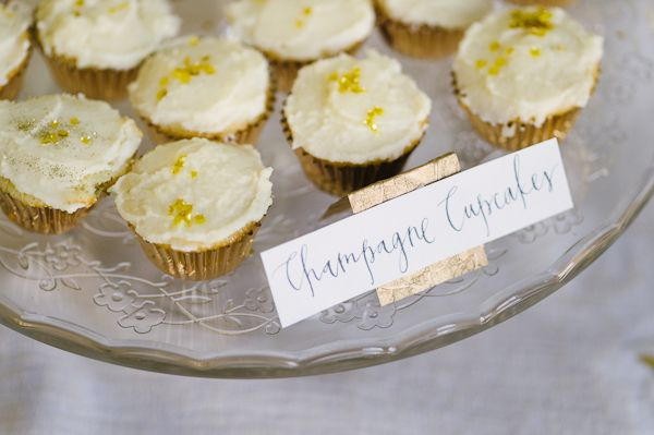 Entertaining: Champagne Cupcakes!!!