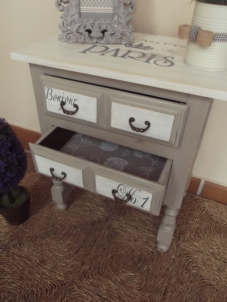 Mejores 79 imágenes de muebles pintados en Pinterest | Muebles ...