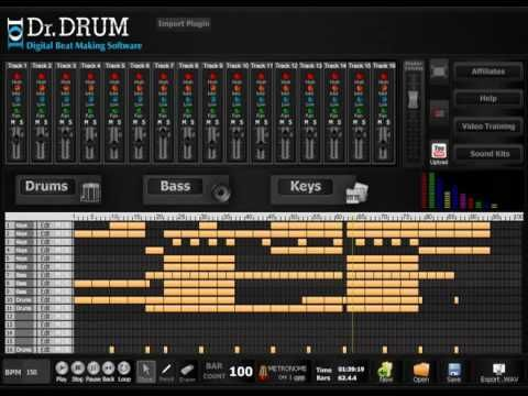 how to make a rap beat from a drum break