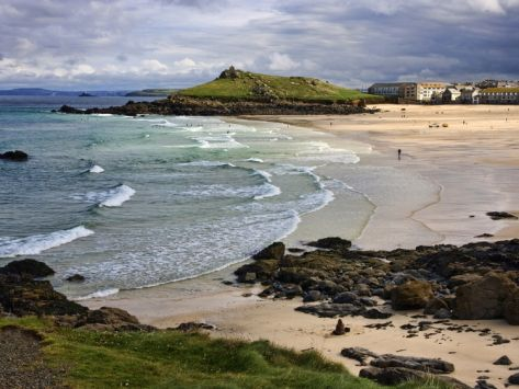 Porthmeor Beach, St. Ives, Cornwall, England, United Kingdom, Europe Photographic Print by Roy Rainford at Art.co.uk