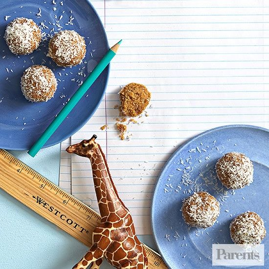 In this new Parents column, Weelicious blogger Catherine McCord, a mom of 2, dishes out healthy snack ideas. Whether your kid needs a school snack, sports practice pick-me-up, or pre-dinner munchie, these recipes will have you covered.