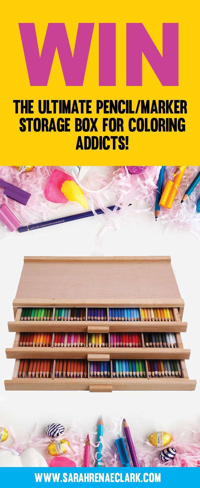 Coloring book kea - Win This Ultimate 3 Drawer Wood Art Storage Box