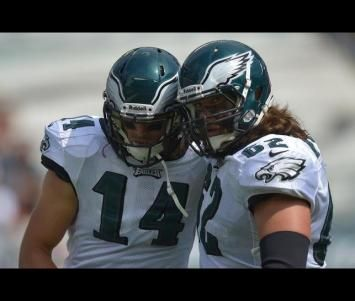 NFL: Eagles Reach Deals with WR Riley Cooper, C Jason Kelce