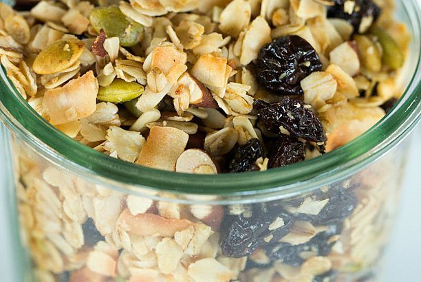 Cherry-Almond Coconut Granola (Brown Eyed Baker) | Granola, Coconut ...