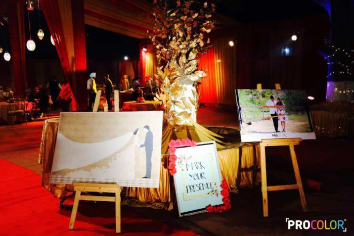 Decoration Ideas - The Wedding Decor! Photos, Punjabi Culture, Beige Color, Decoration, Wedding, Candid Clicks pictures, images, Vendor credits - WeddingPlz