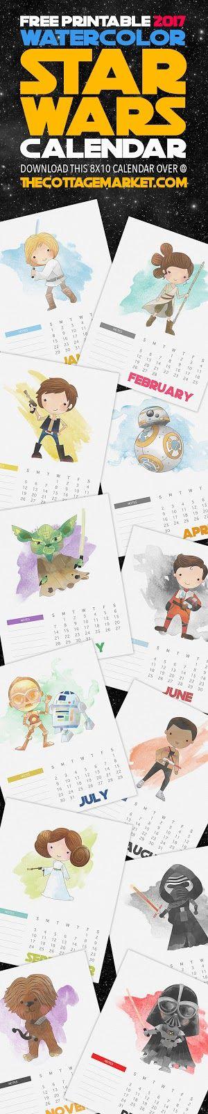 15 darmowych kalendarzy do druku na 2017 rok.
