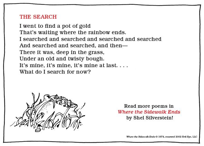 Shel Silverstein Poems: 1000+ Images About Shel Silverstein On Pinterest