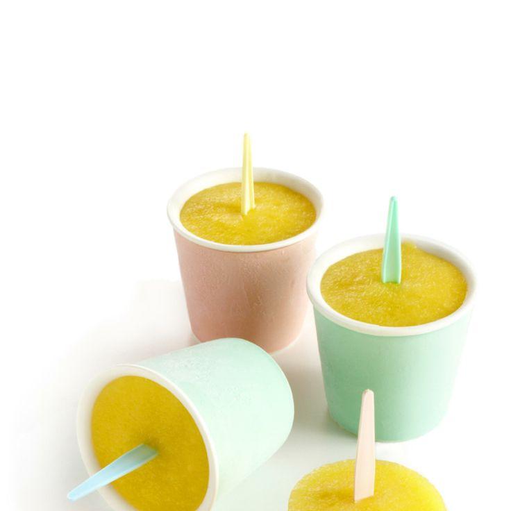 Zomerijsjes: mango met limoen