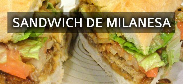 Receta Sandwich de Milanesa de carne Bueno amigos, aquí les dejo una simple pero muy rica receta de como hacer un buen sandwich de milanesa casero para comp