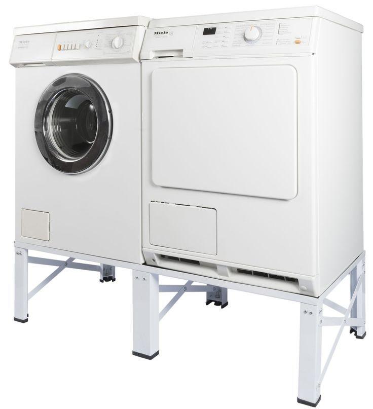 Waschmaschinen Untergestell Trockner Sockel Podest Stabil Unterschrank Erhöhung