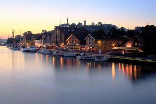 Tønsberg, Norway.  Oldest town in Norway. August 18,2011