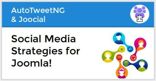 Social Media Strategies for #Joomla! A brand new tutorial for Joocial 8.6