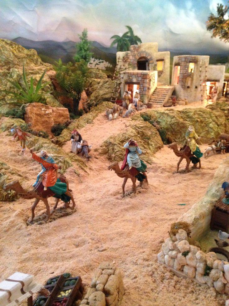 Los Reyes en el Pesebre!!