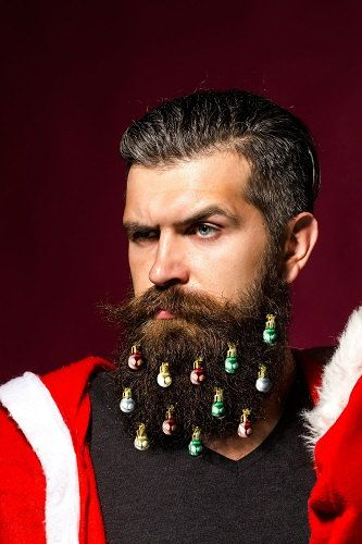 Get your beard excited for the holidays! The official Beardaments Beard Ornaments (www.beardaments.com) include 12-pack of original Beardaments beard ornaments.  Beardaments are better than the rest of the beard ornaments or beard baubles on the market because we use mini-clips to make sure those ornaments stay secured in your festive facial hair!  A 12-pack includes four red, four green, two silver and two gold Beardaments. Beard ornaments are also a fun gift to any of your bearded friends…