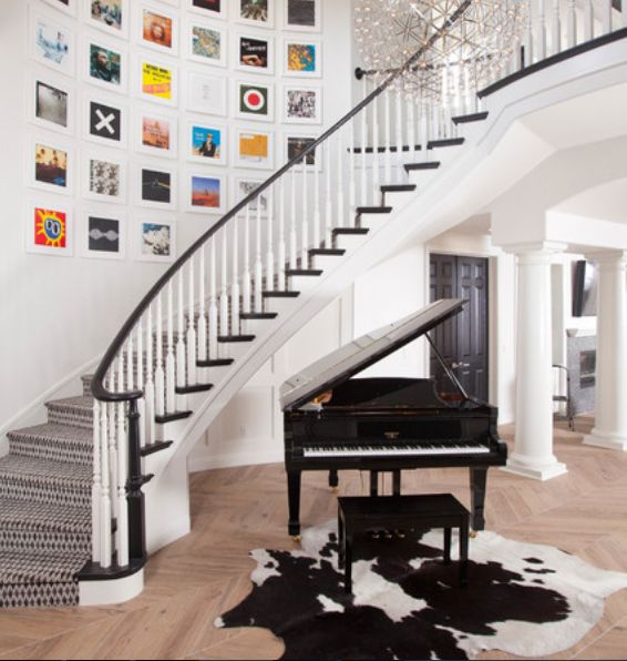 10 Wonderful Foyer Design Ideas With Piano | My Home Design