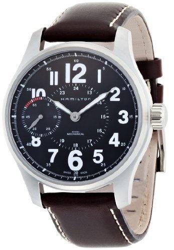 Hamilton H69619533 - Reloj analógico automático para hombre, correa de cuero color marrón de Hamilton, http://www.amazon.es/dp/B001F7LDL2/ref=cm_sw_r_pi_dp_w8U6qb16HD5CN