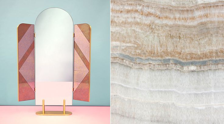 """Mirror """"the Happy Room"""" for FENDI / Credits: Alberto Zanetti for Wallpaper Magazine. via Goodmoods"""