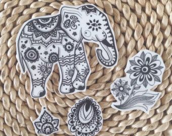 Mehndi Elephant Wallpaper : Abstract elephant drawing at getdrawings free for personal