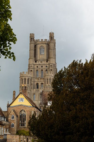 Ely city Buildings & Cathedral, UK architecture Photography