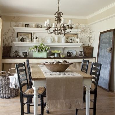 traditional dining room small dining room design pictures remodel decor and ideas - Country Cottage Dining Room Ideas