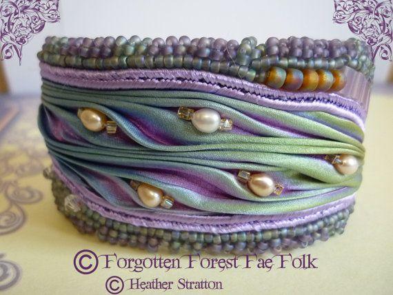 Hey, I found this really awesome Etsy listing at https://www.etsy.com/listing/222155999/shibori-silk-cuff-bracelet