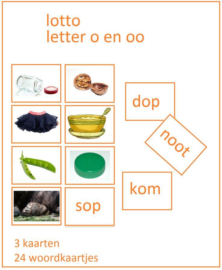 Lijn 3 Lotto o en oo bij Thema 3 - Digibord Onderbouw