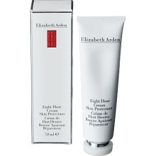 Elizabeth Arden 8 Hour Cream. I never go anywhere without this product in my bag. It's literally amazing. It didn't win awards for nothing. It heals cuts, scrapes, dry skin, chapped lips, hang nails, irritations, sunburns, you name it. Elizabeth Arden (and myself) swears it will heal anything in 8 hours. Must have!!