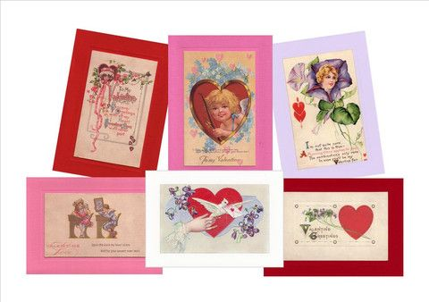 16 best greetings from the past greeting cards images on pinterest valentine greetings from the past sampler m4hsunfo