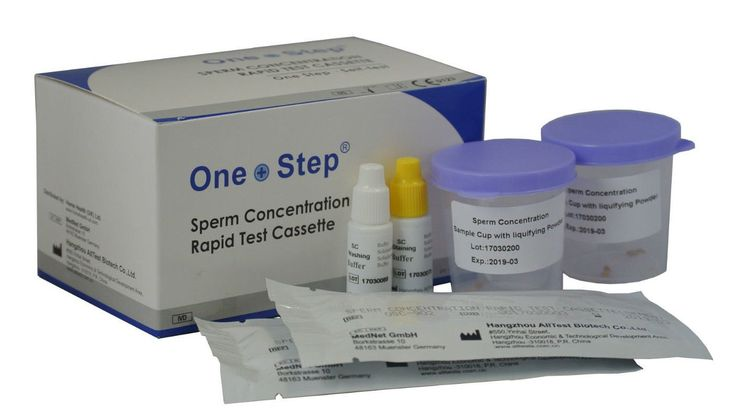 2+x+One+Step®+Male+Fertility+Sperm+Concentration+Test,+Active+Count+Kit+FT