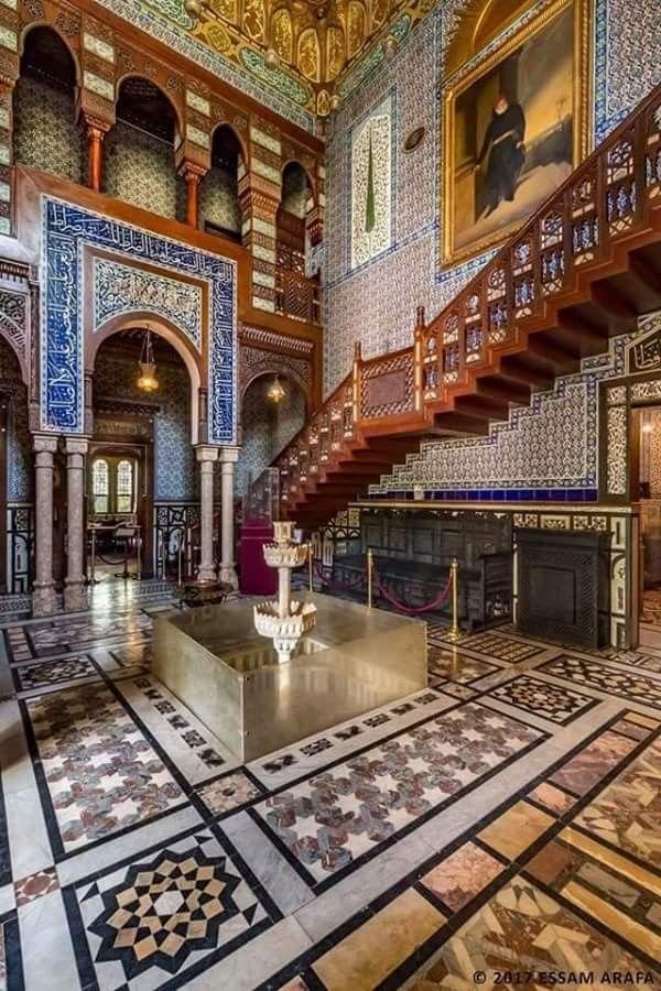 الأسطورة المعمارية قصر الأمير محمد علي بالمنيل قصر الأمير محمد علي بالمنيل هو العنوان الحقيقي للعراقة و روعة الأن Modern Egypt Islamic Architecture Egypt