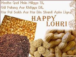 Happy Lohri wishes wallpapers and messages in Punjabi .