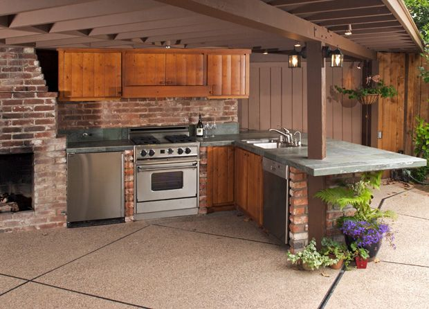 74 best outdoor kitchens images on pinterest