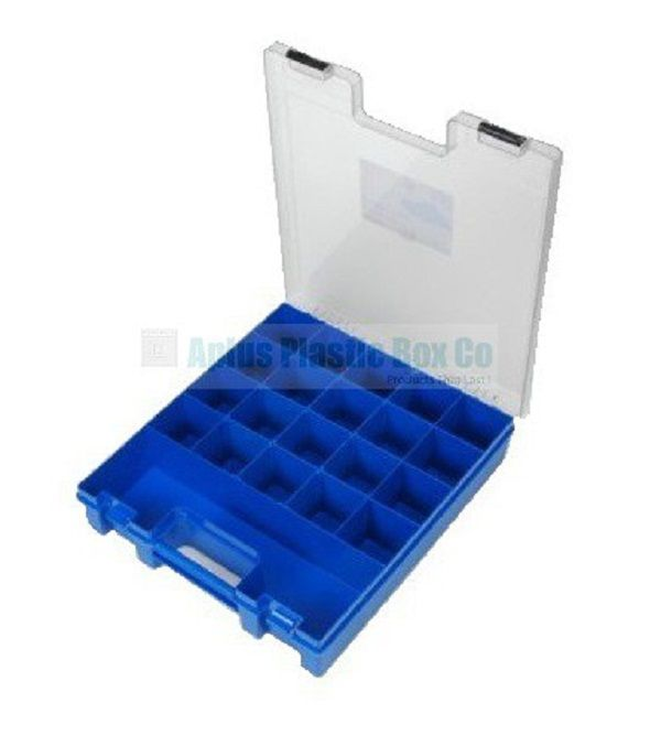 Multi Compartment Organiser for more information go to plasticboxco.net.au