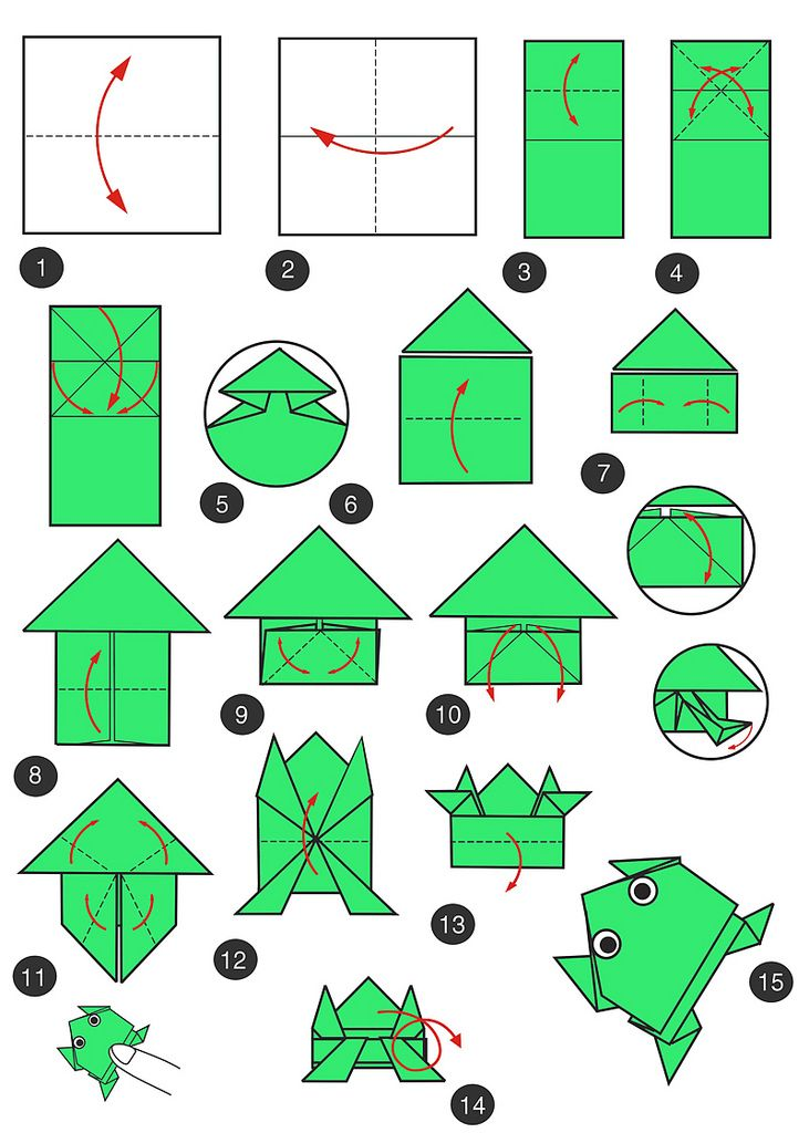 how to make origami tools