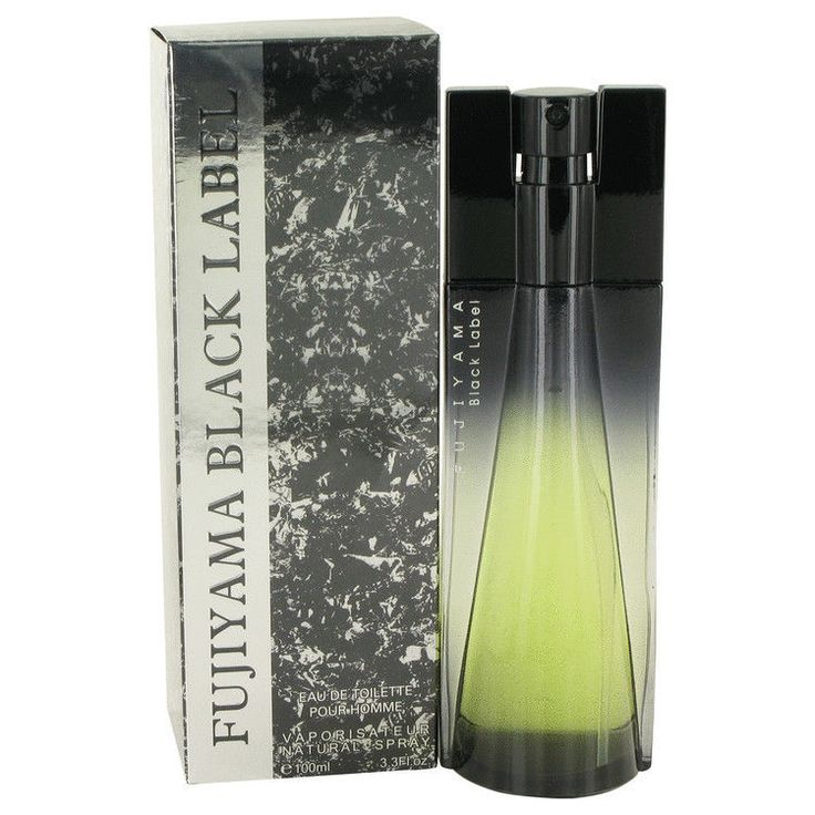 Fujiyama Black Label by Succes De ParisEau De Toilette Spray 3.4 oz #SuccesDeParis