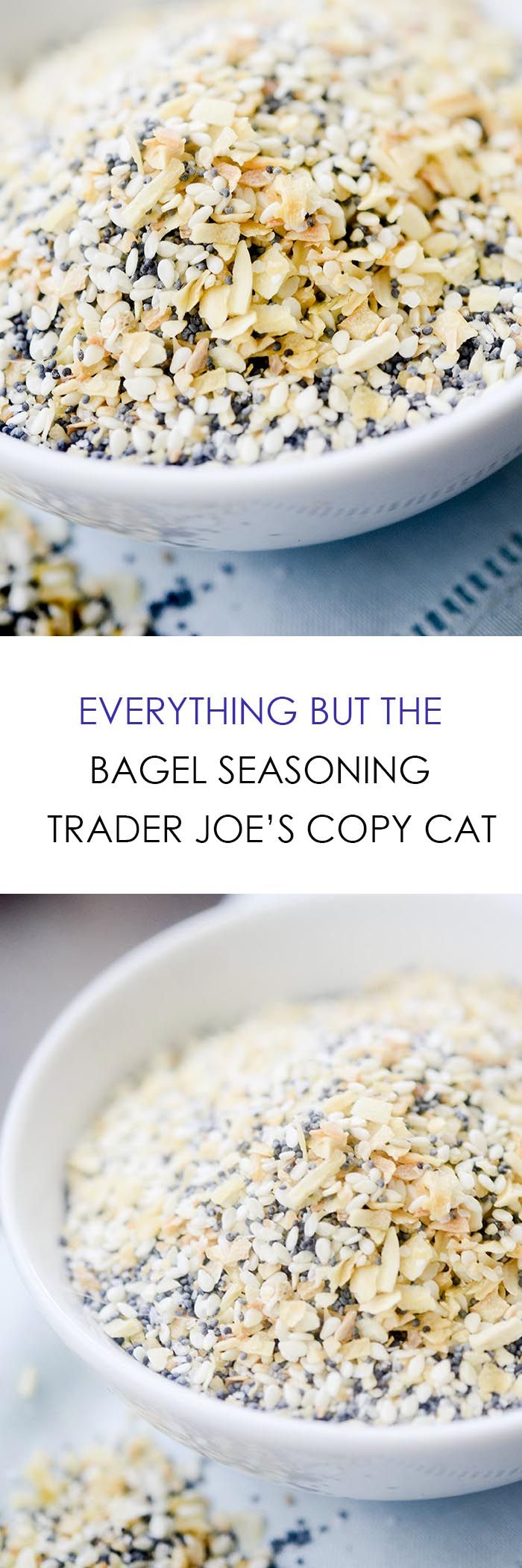 Everything but the Bagel Seasoning - Trader Joe's Copy Cat - Recipe Diaries