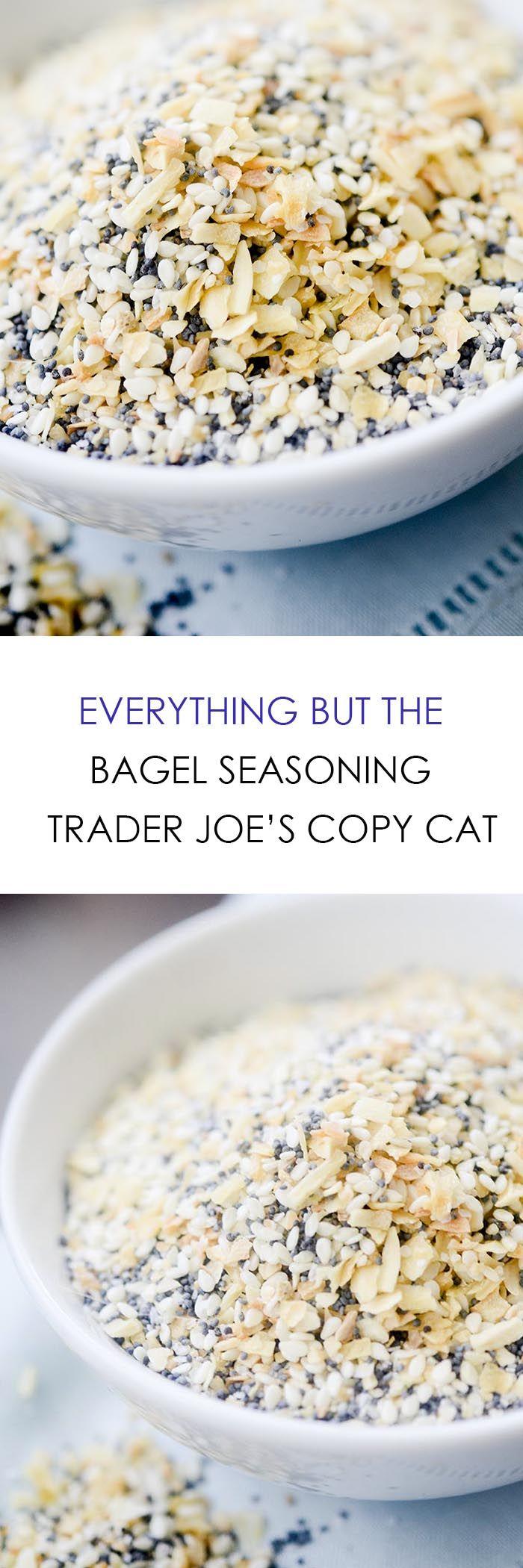 Everything but the Bagel Seasoning - Trader Joe's Copy Cat - Recipe Diaries
