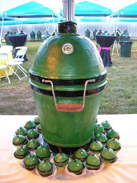 Oh My God Big Green Egg Cake Got To Get It For My Dad