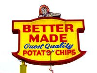 Better Made Potato Chips Detroit MI.