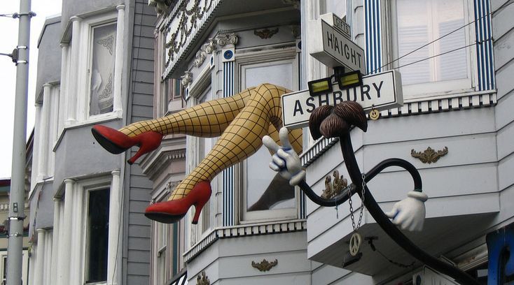 Haight-Ashbury - An iconic and historical area in San Francisco.