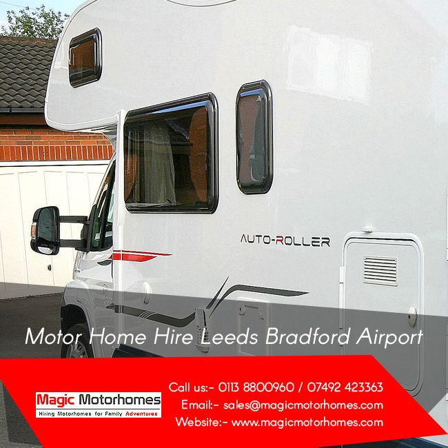 If you visit UK and wish to continue you trip on the motorhome, avail motor home hire Leeds Bradford airport services and do not compromise with the luxury. With superb cooking facilities, oven, utensils, multiple electric sockets, gas cannister, LED lighting and bicycle racks on a 7 berth diesel powered motorhome, http://www.magicmotorhomes.com/motor-home-holiday/  makes the trip affordable and comfortable for your family.