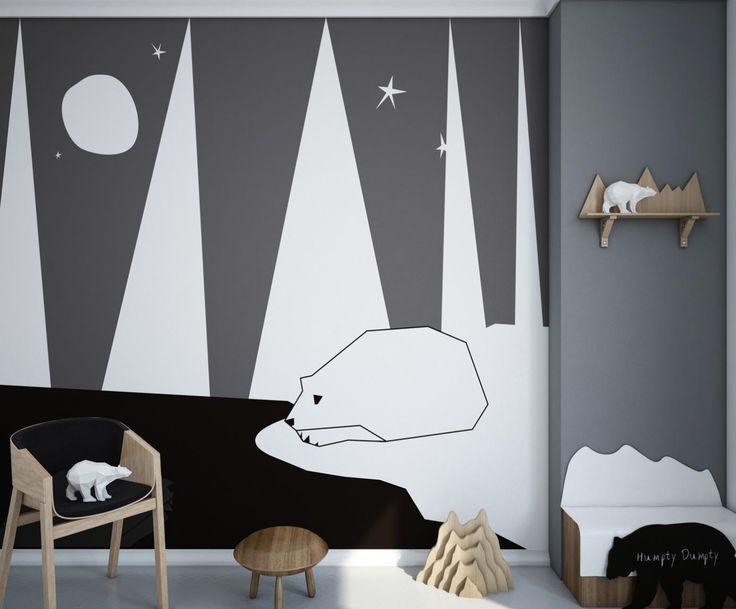 Na tapecie: Dziecięca wyobraźnia w aranżacji ścian