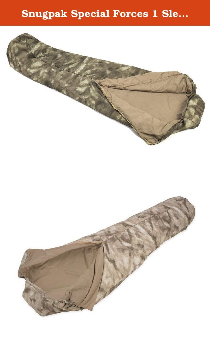Snugpak Special Forces 1 Sleeping Bag, A-Tacs Camo. The Special Forces 1 Sleeping Bag is one of Snugpak's best-selling sleeping bags to various military forces around the world. It has a quick release center zip to allow the user to get out of the bag in a hurry if need be. Also the Special Force 1 sleeping bag can be joined and used in conjunction with the Special Forces 2 sleeping bag with the use of the Special Forces Zip Baffle. It also has a reinforced foot area and comes with a...