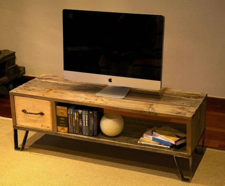 73 best muebles hechos con palets images for Mueble realizado con palet de madera