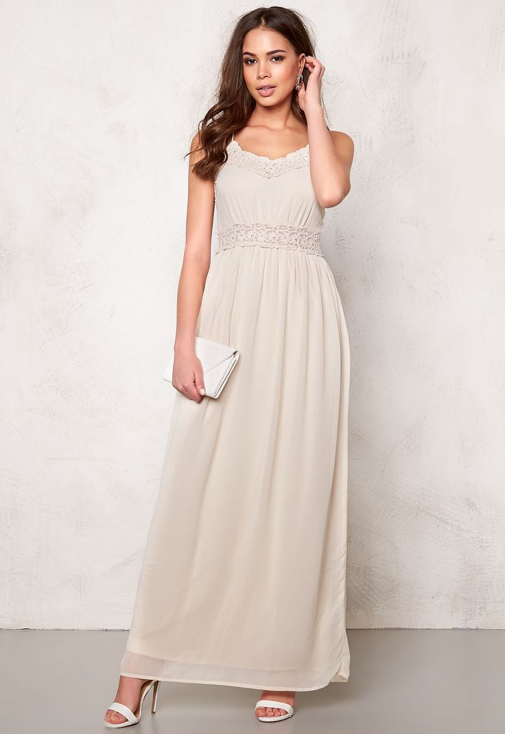 VILA Calas Maxi Dress Pink Tint - Bubbleroom