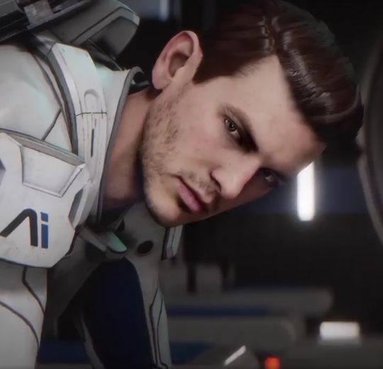 Ryder from Andromeda Mass Effect Screenarchery