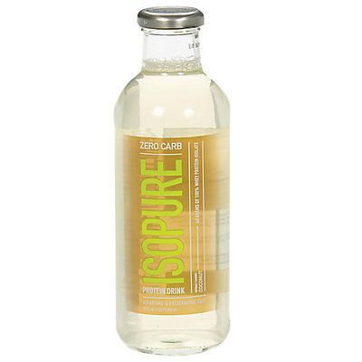 Sports Vitamins and Minerals: Isopure Isopure Zero Carb - 12 Drinks Coconut -> BUY IT NOW ONLY: $44.99 on eBay!