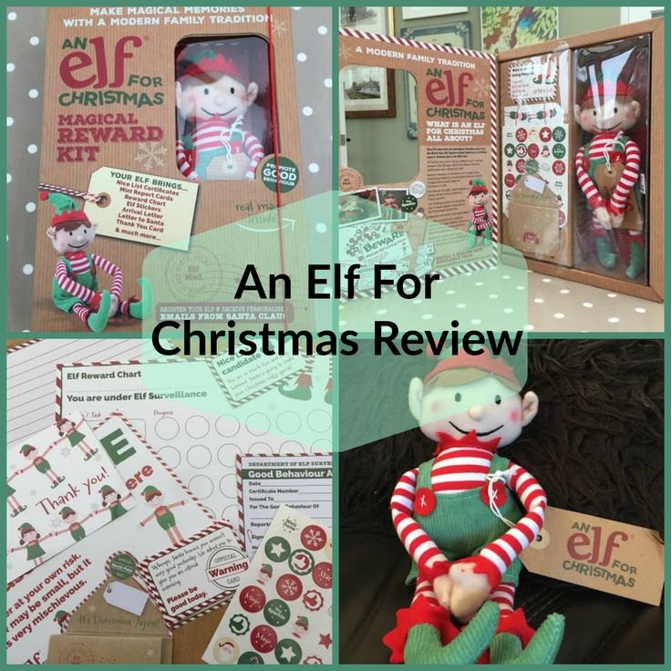 Review of An Elf For Christmas from parenting blog