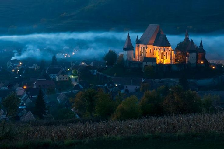 The Fortified Church of Beirtan in Romania - Imgur