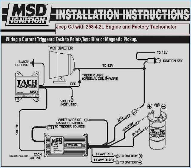 Msd 6al Wiring Diagram Mopar | Diagram, Msd, IgnitePinterest